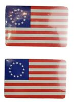Vintage First National Flag 1777 Playing Cards Betsy Ross Flag Sealed Lot of 2