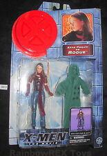 X-MEN The Movie ANNA PAQUIN as ROGUE w/ Cloth Cloak & Scarf  Toy Biz 2000 Marvel
