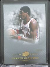 2013 Upper Deck All Time Greats Basketball #27 Hakeen Olajuwon No 6 of 10