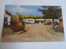 Vintage Postcard YEW TREE CARAVAN PARK, Berrow, Burnham On Sea Somerset 1966