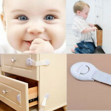 10 Pcs Armoire Serrure Tiroir Placard Porte Captures Sécurité Pour Bébé Enfant