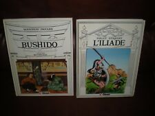 COLLECTION MYTHOLOGIE GLENAT LOT 2 TOMES EN EO : BUSHIDO + L'ILLIADE