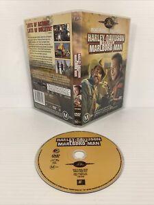 Harley Davidson And The Marlboro Man RARE DVD R4 Mickey Rourke Don Johnson