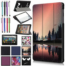 For Amazon Kindle Fire HD 8/HD 8 Plus 10th Gen 2020 Ultra Slim Case Stand Cover