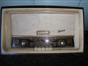 Philips Sirius 373 Röhrenradio Radio antik alt tube radio Ersatzteilespende