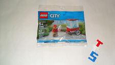 CHOICE New Sealed PolyBag LEGO 30364 Circus City Carnival POPCORN CART BOX