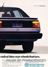 1988 VW Volkswagen Jetta GLI 2-page Advertisement Print Art Car Ad J760