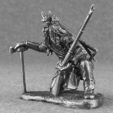 Miniature Metal Figure Indian Native American Sioux 1/32 Tin Toy Soldiers 54mm