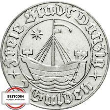 DANZIG D16  2 Gulden 1932 VZ   815247