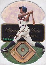 1997 FLAIR SHOWCASE DIAMOND CUTS: ANDRUW JONES #8 OF 20 ATLANTA BRAVES DIE-CUT