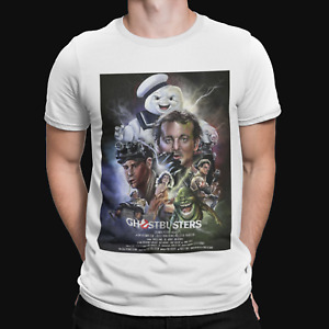 Ghostbusters T-Shirt - Retro - Film - TV - Movie  -80s - Cool - Gift - Action