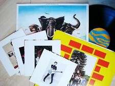 Elvis Costello Armed Forces Fold-Out + Postcards A-1 B-1 UK LP RAD 14 1979 EX/EX