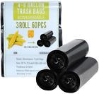 4 Gallon Trash Bags Biodegradable Black Small Recycled Trash Bags Compostable