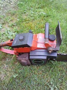 Vintage Craftsman 3.7 60cc chainsaw runs