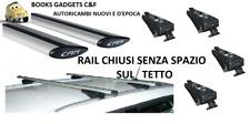 Bmw Serie 5 Touring Sw (10>17) Kit Barre in Alluminio Portatutto (RAIL CHIUSI)