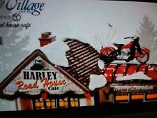 """Department 56 Snow Village """"Harley Road House Cafe"""" #4025316"""