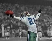 Dallas Cowboys DEION SANDERS 'Primetime' 8x10 Photo Spotlight Football Print