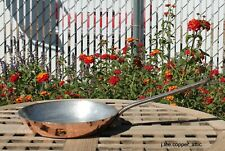 "New listing Cordon Bleu Hammered Copper 8"" Skillet/Fry Pan w/ tin lining, 1.85 mm, France"