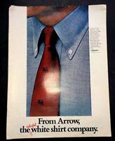 Life Magazine Ad ARROW SHIRT COMPANY 1968 AD