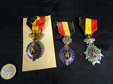 Medaille Dekoration Belgisches des Arbeit Packung 3