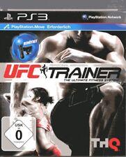 UFC Personal Trainer (Move OBBLIGATORIO) PLAYSTATION 3 Usato