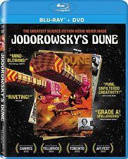 JODOROWSKY'S DUNE  -  BLU RAY + DVD  - Sealed Region A / 1