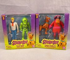 Scooby-Doo Lot of 2 Action Figures Fred Captain Cutler's Ghost Frightface