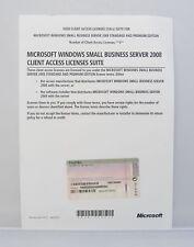 5 User / Benutzer CAL für Windows SBS Small Business Server 2008 Standard