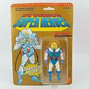 1989 DC Comics Super Heroes MR FREEZE Figure Toy Biz New Sealed Batman