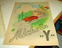 Flyer Advertising Tires 19 x 25 - Michelin 'Y' Original Years' 30