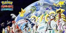 All 54 Legendary Pokemon Non-Shiny Omega Ruby Alpha Sapphire (ORAS XY) +6 Free