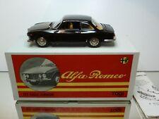 TOGI 8/65 ALFA ROMEO GIULIA GT - DARK BROWN faggio 1:23 - GOOD CONDITION IN BOX