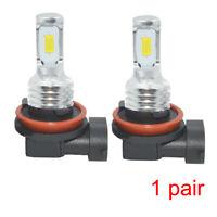 H8 H9 H11 LED Headlights Bulbs Kit High/Low Beam Bright 35W 4000LM 6000K White