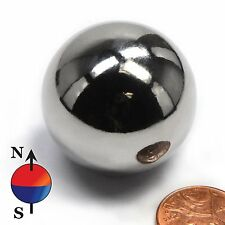 1pcs Neodymium Rare Earth Sphere Magnets N50 Strong Magnetic Balls Dia 25.4mm