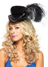Vittoriana Steampunk Nero Mini Cappello