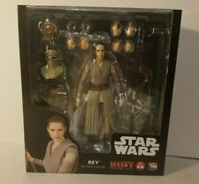 "Medicom Toys Star Wars The Force Awakens MAFEX No.036 REY 6"" Figure Authentic US"