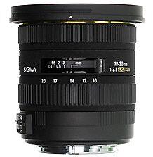 Sigma SLR Kamera-Objektive mit Canon EF-Anschlussart