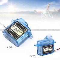 Mini Micro Servo 3.7g or 4.3g for Aeromodelling flight direction control