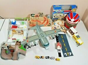 Large Vintage Lot of Galoob Micro Machines Cars & Playsets