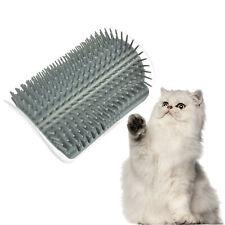 Creative Pet Cat Self Groomer Brush Wall Corner Grooming Massage Comb Cat Toys