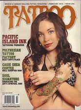 Tattoo Magazine February 2014 Casie Shea Cortez VG 031116DBE