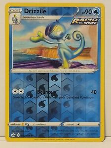 Pokemon TCG - Drizzile 42/198 Reverse Holo - Chilling Reign - Pack Fresh NM