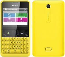 BRAND New Nokia Asha 210 YELLOW All Networks WhatsApp Facebook QWERTY GENUINE