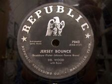 Vintage Republic Recording Co. Record Jersey Bounce By Del Wood & band