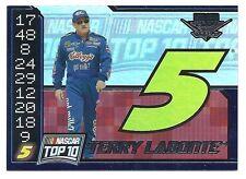 Terry LaBonte 2004 Wheels High Gear Top Ten Card, # TT 9 of 9.