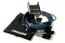 Whirlwind ME-8-0-NR-050 Medusa Elite Audio Snake 8 x 0 channels 50 ft