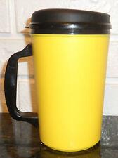 34 oz YELLOW THERMO SERV INSULATED TRAVEL MUG CUP