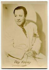 Vintage Music Promo Photo Card: Ray Kinney