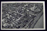 AERIAL VIEW OF JEFFERSON CITY MISSOURI  POST CARD 1900s #945