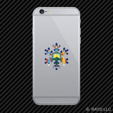 New York Snowflake Cell Phone Sticker Mobile NY snow flake snowboard skiing skii